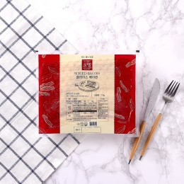 오뗄 슬라이스베이컨 1kg 냉동